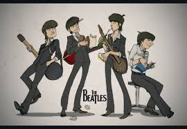 Caricatura The Beatles