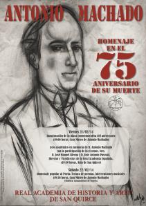 Homenaje Machado 75 aniversario