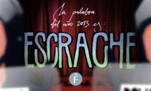 Escrache palabra ganadora de 2013 Fundéu
