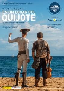 Cartel En un lugar del Quijote Ron Lalá