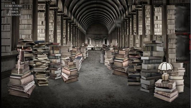 Carlos Ruiz Zafón El cementerio de los libros