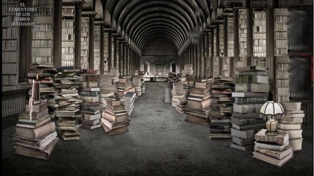 Resultado de imagen de cementerio libros olvidados