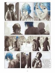 El azul entra en su vida