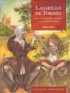 Portada Lazarillo de Tormes Vicens Vives