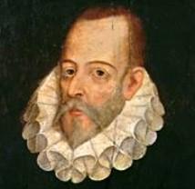 Retrato de Cervantes. Pintura de Juan de Jáuregui