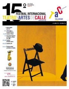 Cartel XV edición TAC