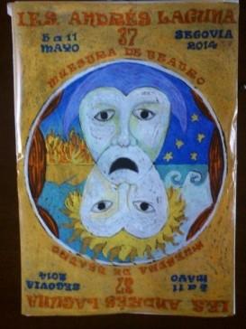 Cartel XXXVII Muestra de Teatro independiente