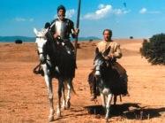 Fernando Rey u Alfredo Landa en la película de Manuel Gutiñerrez Aragón  del año 1991