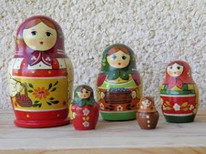 Muñecas matrioskas