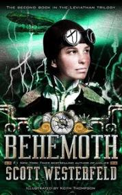 Portada de Behemoth de Scott Westerfeld