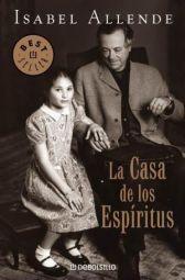 Portada de La casa de los espíritus Isabel Allende Debolsillo