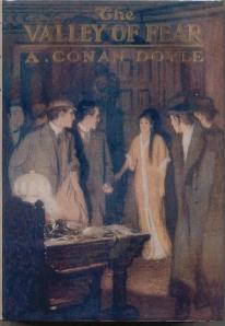 Portada El valle del Terror 1ª edición americana Conan Doyle