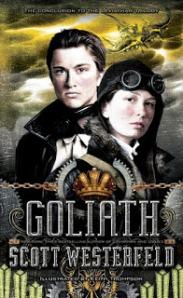 Portada Goliath de Scott Westerfeld