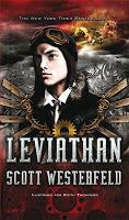 Portada Leviathan de Scott Westerfeld