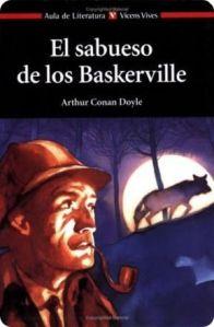 Portada Vicens Vives El sabueso de los Baskerville Conan Doyle