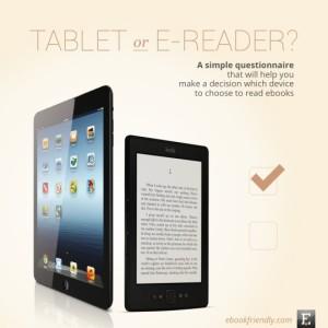 Tableta o lector de libros digitales