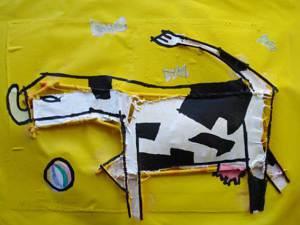 Vaca de seis lados Manolo Dueñas Blanco