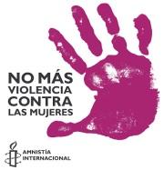 Amnistía Internacional No violencia contra la mujer