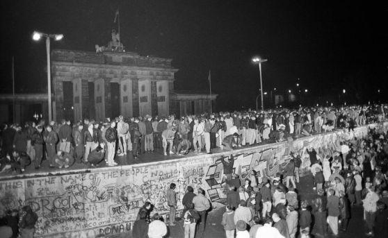 Caida del Muro 9 de noviembre 1989