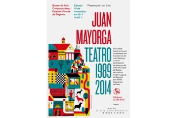 Cartel presentación Juan Mayorga Teatro 1989 2014