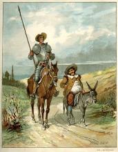 D quijote y Sancho