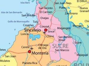 Departamento de Sucre Colombia