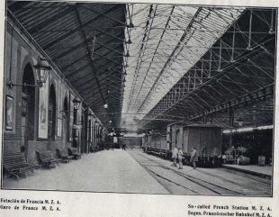 Estación de Francia años 40