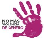 Logo No más violencia de género