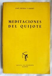 Portada Meditaciones del Quijote