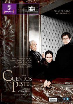 Cartel Los cuentos de la peste en el Teatro Español