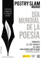 Poestry Slam Madrid 12 Poetas 3 minutos el Público decide