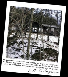 Salinger  Foto de su casa