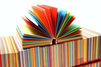 Libros con color