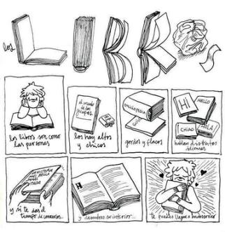 Los libros son como las personas