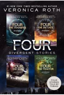 Portada  Veronica Roth Four