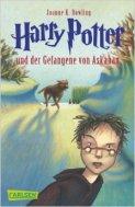 Portada en alemán Harry Potter un der Gefangene von Azkaban
