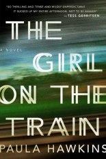 Portada de La chica del tren en versión de los EEUU