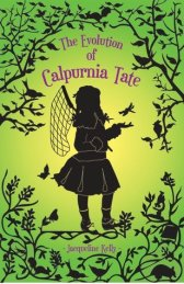 Portada The Evolutiof of Calpurnia Tate