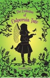 Portada The Evolutiof of Calpurnia Tate