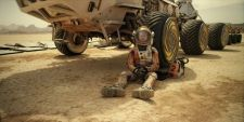 Fotograma película The Martian con Matt Damon