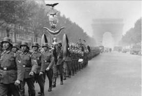 Nazis en París