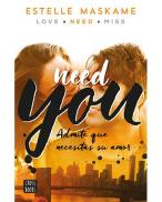Portada Estelle Maskame Need you